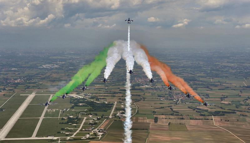 Frecce tricolori - Marina di Grosseto Air Show