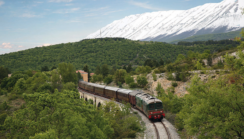 Old railroads