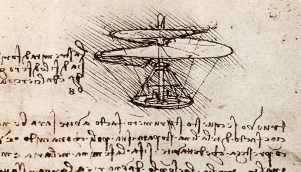 Beijing - Da Vinci flying screw