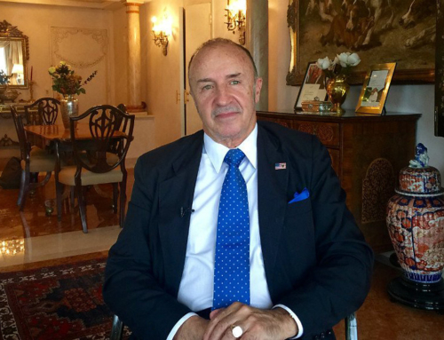 Guido George Lombardi: Investments and security, a comparison with the United States