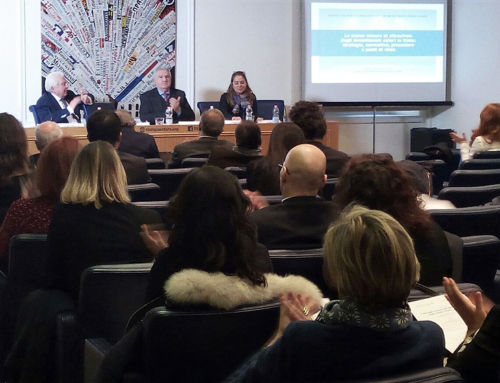 Investor Visa Italy conference at Foreign Press Association in Italy.