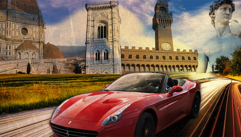 Ferrari experience: visit Italy driving one of the most prestigious cars.