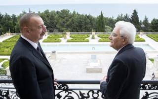 Italian President Sergio Mattarella state visit in Georgia and Azerbaijan