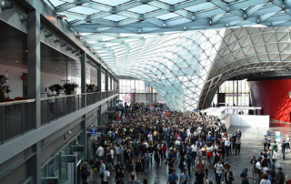 Italian fairs and expos positive trends in 2018.