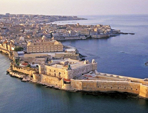 A historic five-star hotel in Syracuse (Sicily), a World Heritage Site