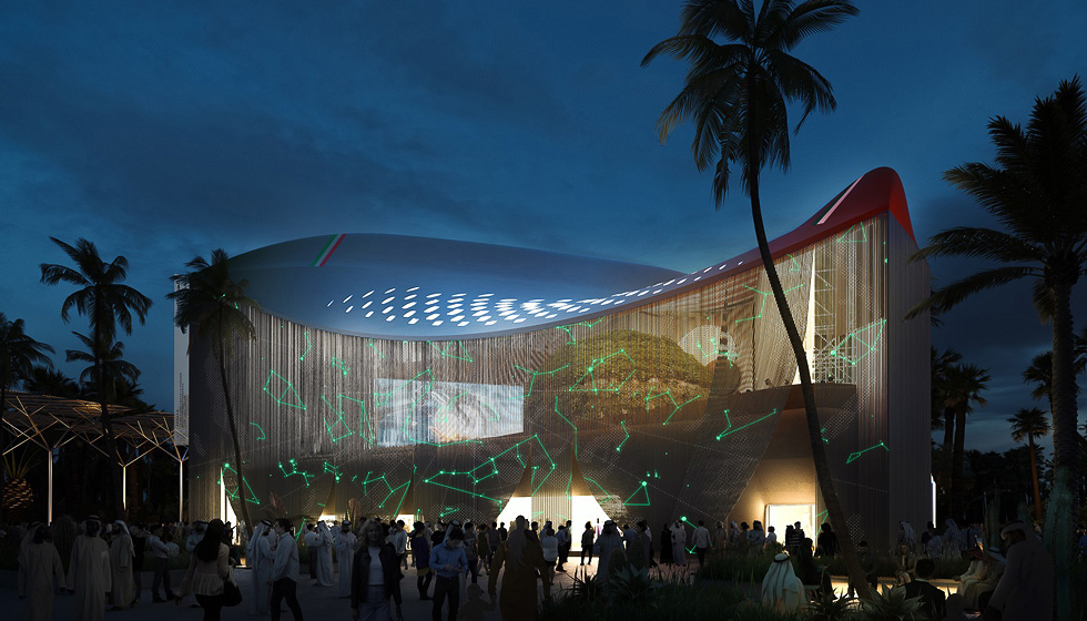 The Italian Pavilion at Expo 2020 Dubai
